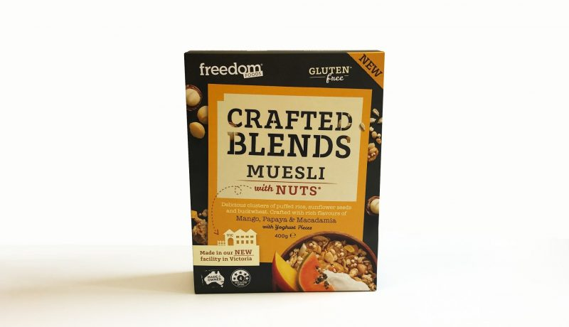 freedome foods crafted muesli