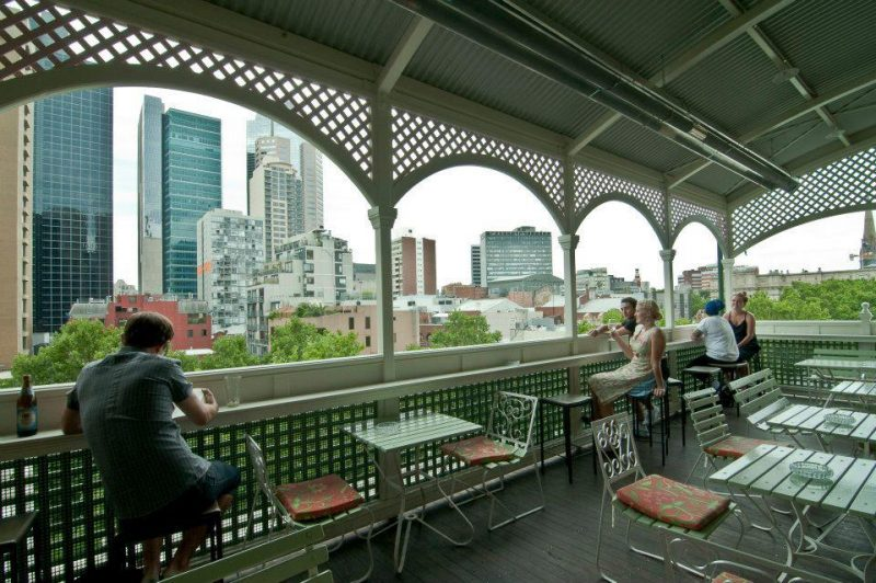 rooftop terrace at madame brussels