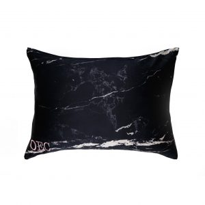 marble style silk pillowcase