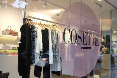 shop front of cosette