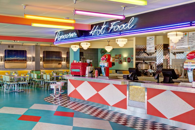 retro style diner at blacktown Skyline Drive In