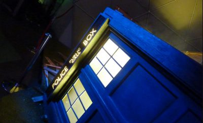 blue dr who tardis