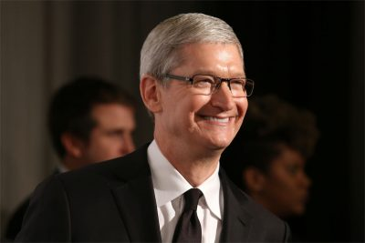 Apple ceo tim cook in suit