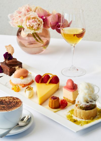 Catalina Rose Bay's a la carte desserts selection