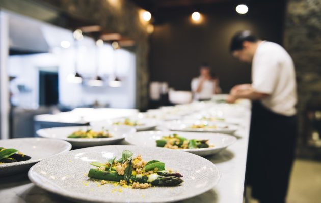 Chef's plating up dishes for last year's Margaret River Gourmet Escape festival. Image: Supplied