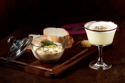 Freshly baked bread and dip. Image: Supplied