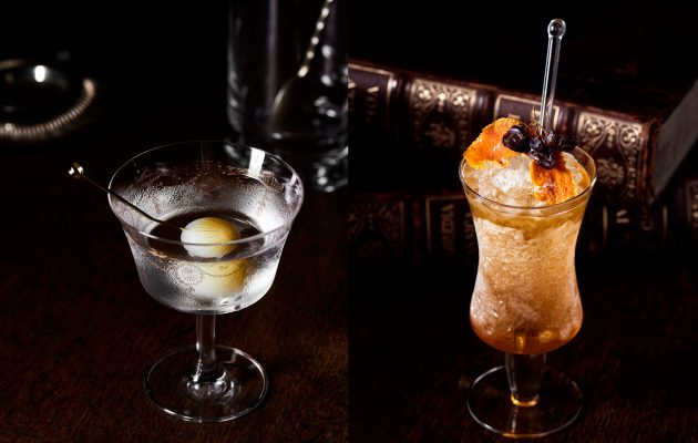 Specialty cocktails at The Duke Of Clarence. Image: Supplied