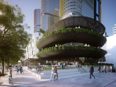 Artist's impression of Barangaroo House. Image: Supplied