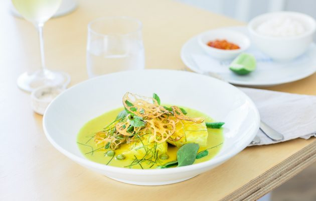 Fish curry at fish dining. Image: Supplied