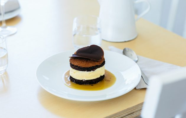 Ice cream sandwich at fish dining. Image: Supplied
