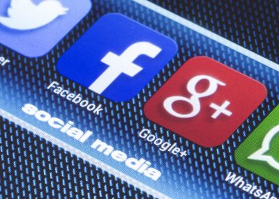 Google and Facebook App Icons. Image by Quka via Shutterstock.
