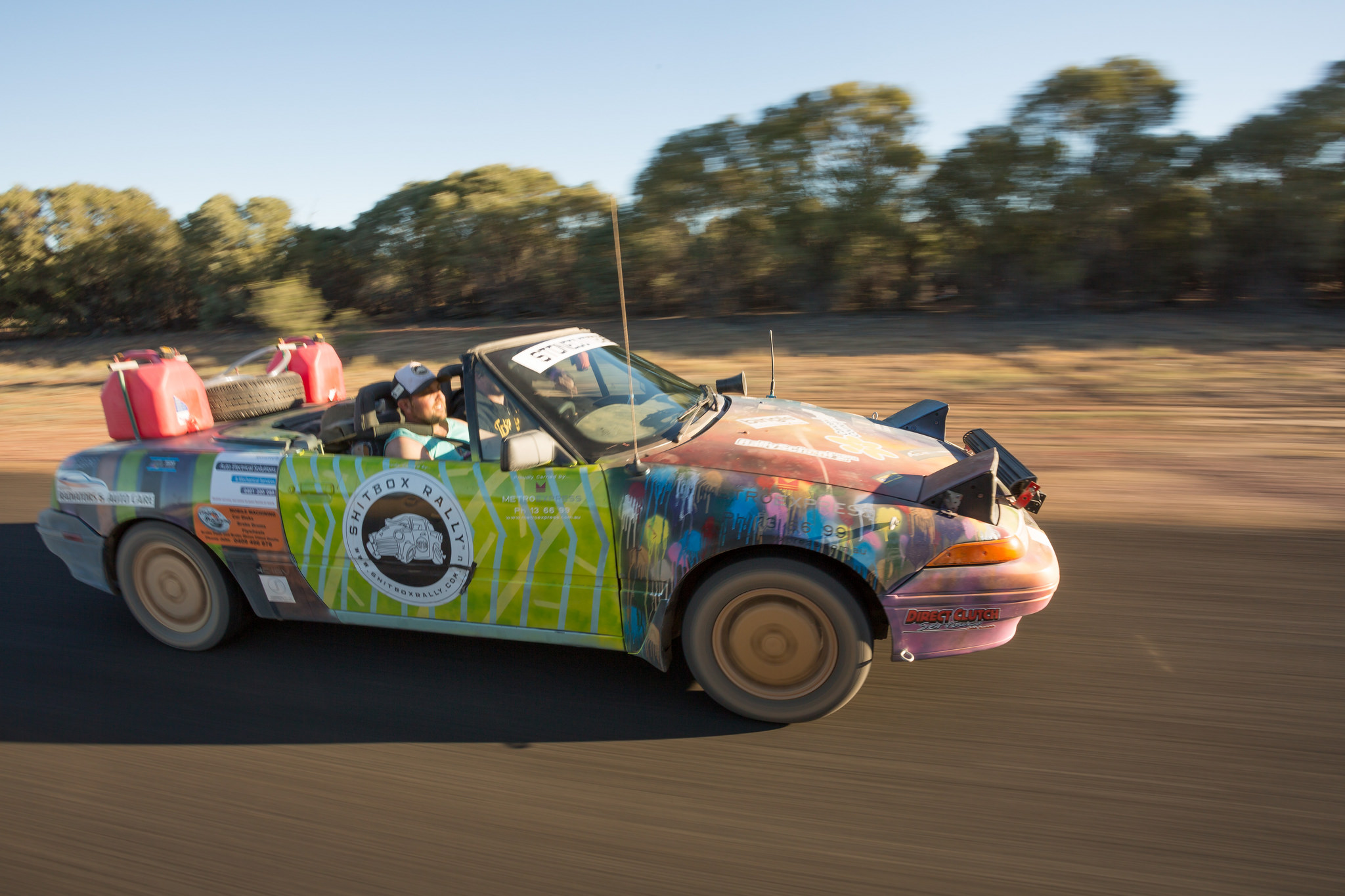 Shitbox Rally Revs Up For 2019 – Hunter and Bligh