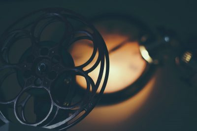 Projector reel. Image by Timothy Eberly via Unsplash.