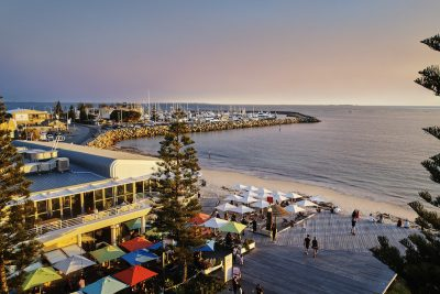 Bathers Beach, Fremantle. Image via Tourism Western Australia