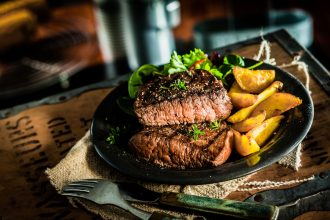 Steak. Photographed by stockcreations. Image via Shutterstock
