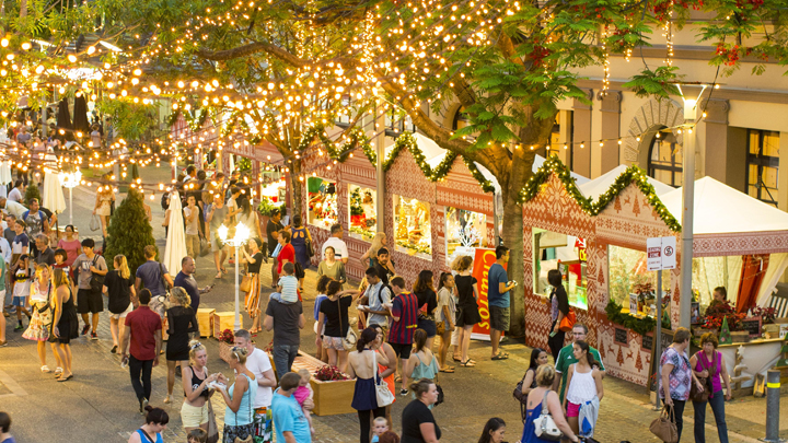 <strong>Brisbane:</strong> South Bank Christmas Gift Market