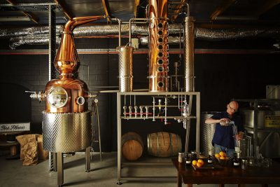 Four Pillars Distillery. Image via Anson Smart