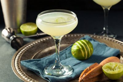 Gin Gimlet Cocktail. Photographed by Brent Hofacker. Image via Shutterstock.