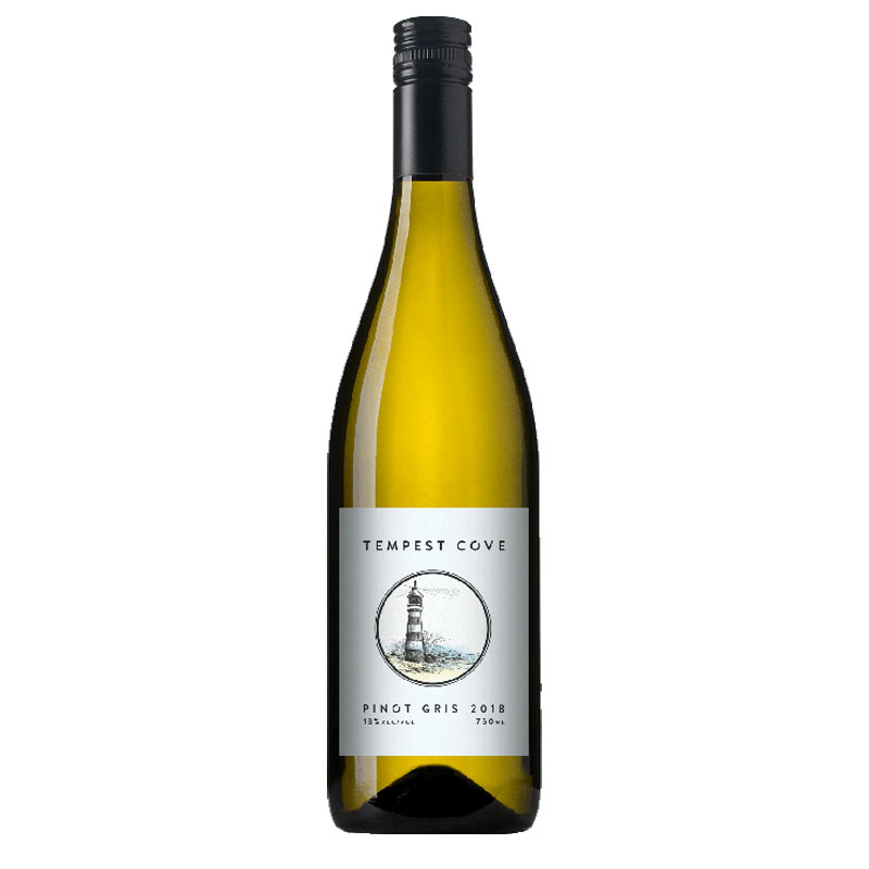 Tempest Cove Pinot Gris 2018
