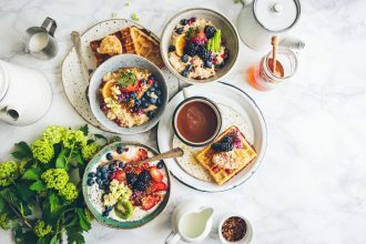 Breakfast, photographed by Brooke Lark. Image via Unsplash