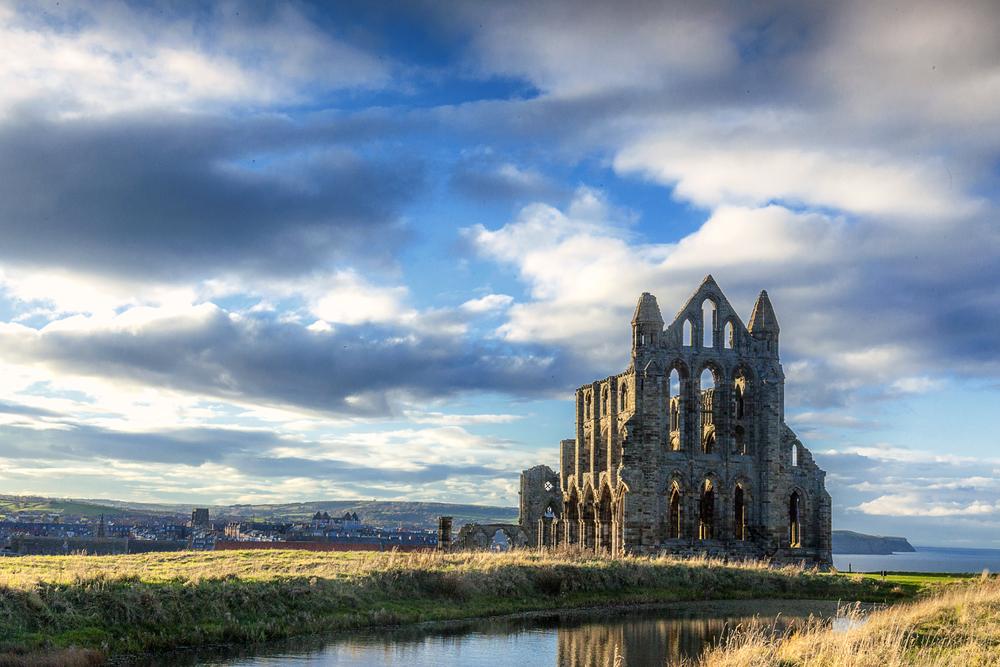 Whitby Abbey. Photographed by Neal Rylatt. Image via Shutterstock