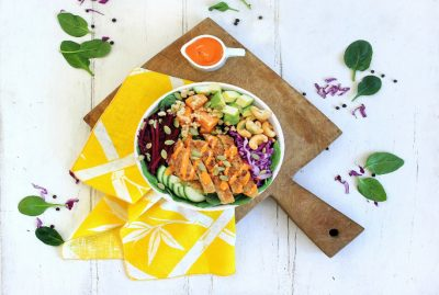 Fry's Family Food Co. Buddha Bowl partnership with SumoSalad. Image Supplied.