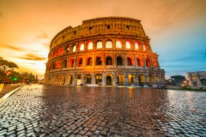 Coliseum. Photographed by Luciano Mortula. Image via Shutterstock