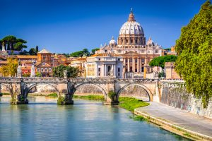The Tiber. Photographed by cge2010. Image via Shutterstock