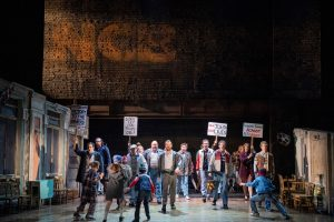 Billy Elliot the Musical. Photographed by James D Morgan. Image supplied