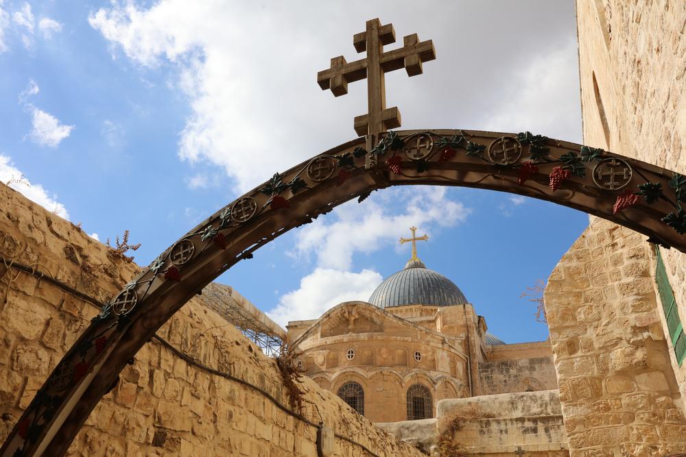 Holy Sepulchre, Jerusalem Israel. Photographed by Bernhard Richter. Image via Shutterstock