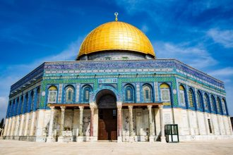 Dome of the Rock, Jerusalem Israel. Photographed by Stacey Franco. Image via Unsplash