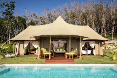 Top 5 Glamping Spots around the World. Image via Glamping Hub supplied