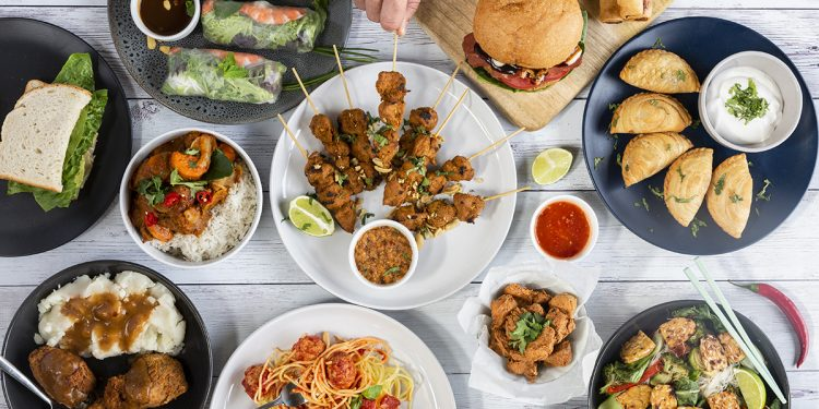 Range of delicious vegan eats made possible by purchasing Vinent Marketplace products. Image Supplied