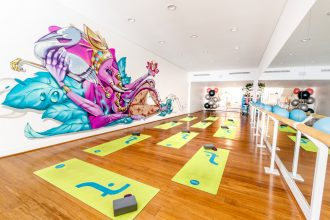 Trunk Studios - Yoga Studio. Image supplied.