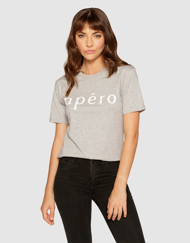 Apero Label Apero Printed T-Shirt. Image via THE ICONIC