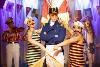 HMS Pinafore. Hayes Theatre Co. Image by Phil Erbacker