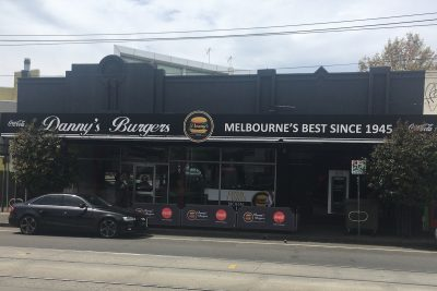 Danny's Burgers. Photographed by Markos Hasiotis. Image supplied via Hunter and Bligh.