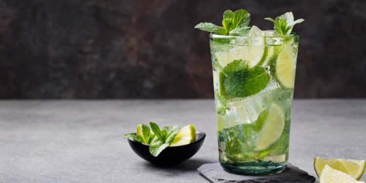 Mojito. Photographed by Anna Pustynnikova. Image via Shutterstock.