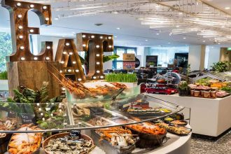 Sheraton Grand Sydney Hyde Park, FEAST experience. Image supplied.