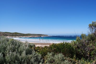 The view of Rivermouth on the walk to Kilcarnup. Photographer: Amy Delcaro. Hunter and Bligh.