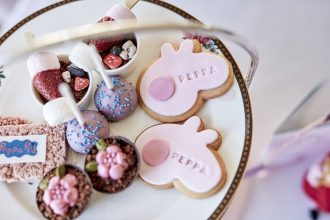 Peppa Pig High Tea at The Langham Melbourne. Image supplied.