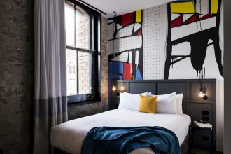 Ovolo 1888 Darling Harbour rooms. Image supplied.