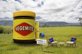 Vegemite Villa, located in Brongo NSW. Image via Booking.com. Image Supplied