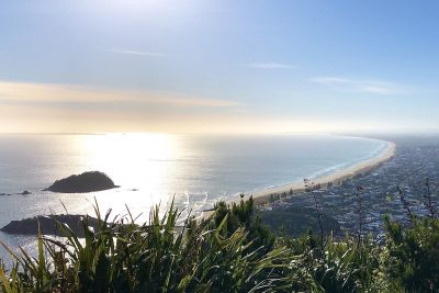 Mt. Maunganui. Photographed by Steph Stroud. Image supplied via Hunter and Bligh.