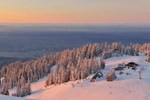 Grouse Mountain Vancouver Canada. Photographed by Lijuan Guo. Image via Shutterstock