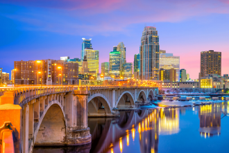 Minneapolis, Minnesota, USA. Photographed by f11photo. Image via Shutterstock