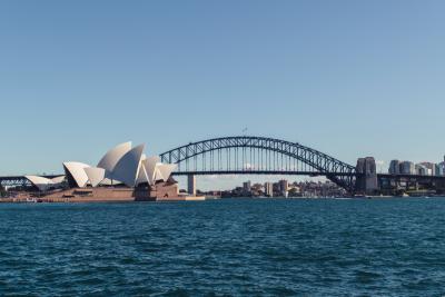 Sydney Harbour. Photographed by April Pethybridge. Image via Unsplash