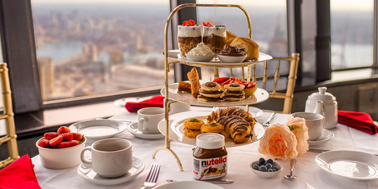 World Nutella Day Sky-High Tea at Sydney Tower Eye. Image supplied.