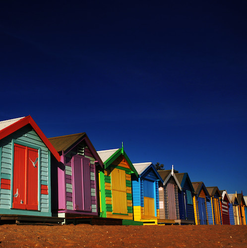 Best Attraction: Brighton Bathing Boxes