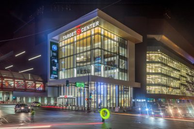 Target Center Minneapolis. Photographed by Sam Wagner. Image via Shutterstock